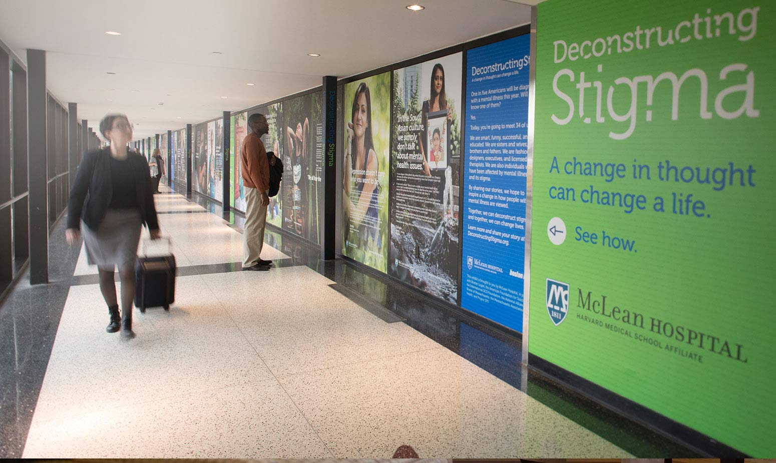 Deconstructing Stigma at Logan airport