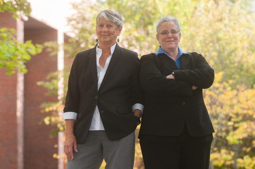 Drs. Milissa Kauffman and Sherry Winternitz