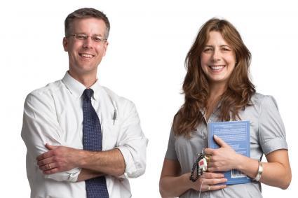Mark Longsjo and Kristin Beville