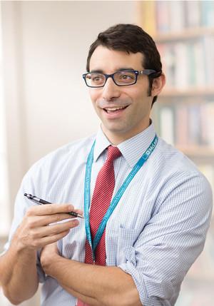Jeffrey Winer, psychology intern