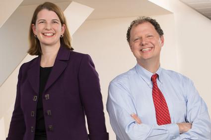 Christine Tebaldi and Dr. Kerry Ressler