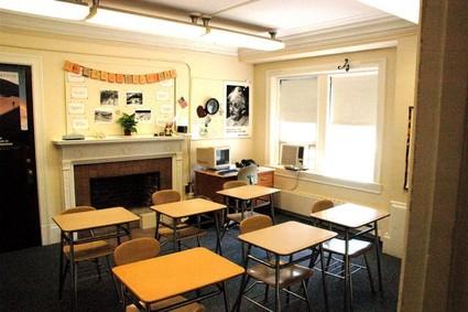 Arlington School classroom