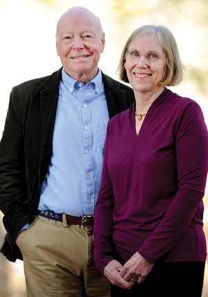 Donors Ralph and Betsy Gordon