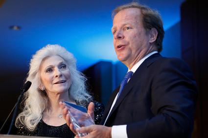 David S. Barlow and Judy Collins