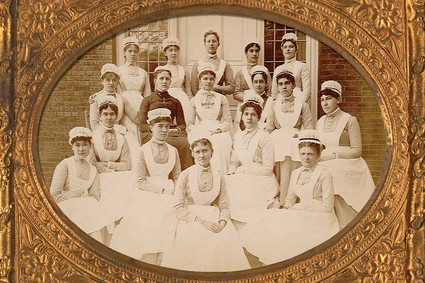 McLean's first class of nursing students