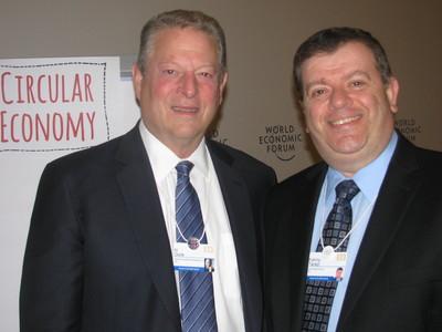 Frank Tarazi and Al Gore