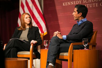 Staci Gruber, PhD and Sanjay Gupta