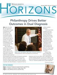Horizons Summer 2015 cover