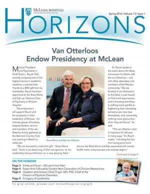Horizons Spring 2014 cover