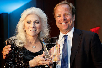 Judy Collins and David Barlow