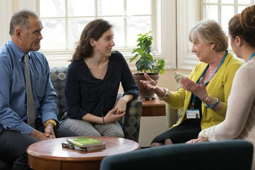 Patient care at the Klarman Eating Disorders Center