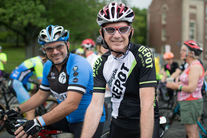 Riders at THE Ride for Mental Health