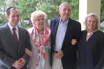Dr. David H. Rosmarin, Reverend Dr. Barbara H. Nielsen, David and Susan Fowler
