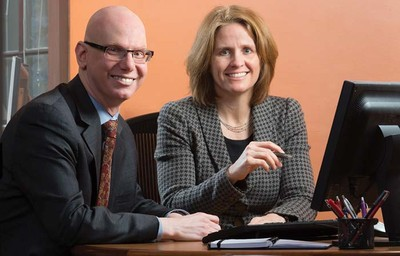 Drs. Rubin and Smith, directors of psychiatry residency training