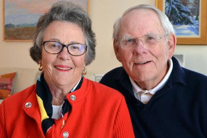 Betsy and Edward Shaw Wilgis