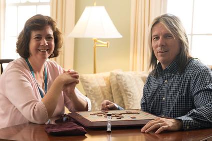 Cheryl Cronin and Kenny Gilman