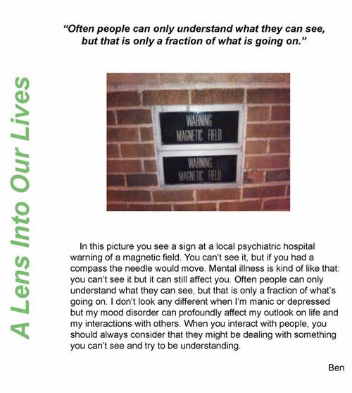 A Waverley Place member's PhotoVoice piece