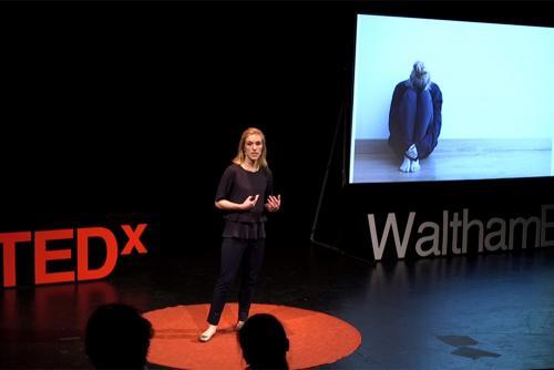 Dr. Kathryn Boger at TEDx Waltham