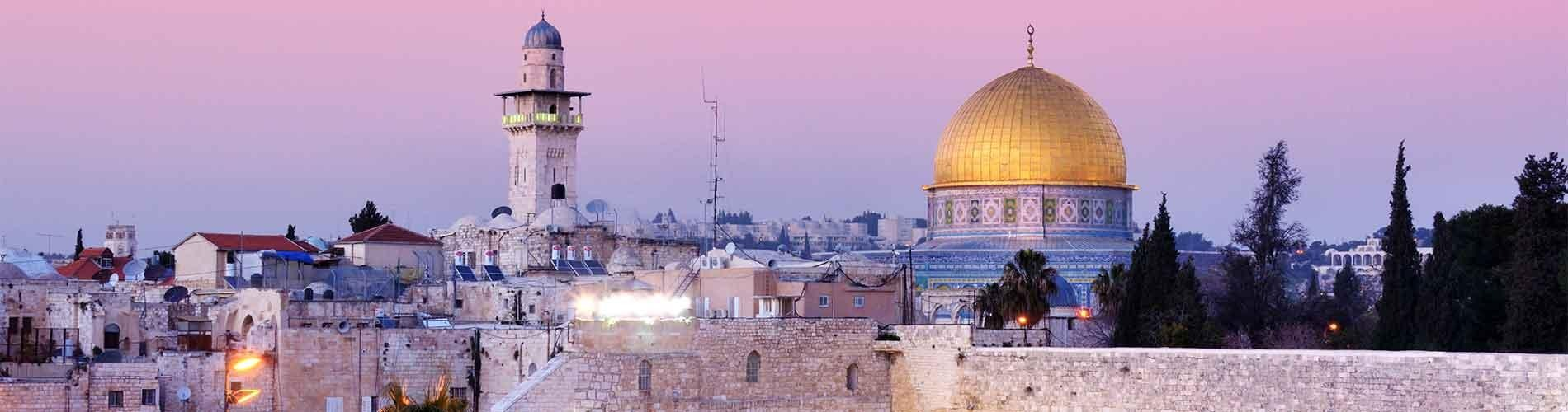 Stock image of Jerusalem skyline