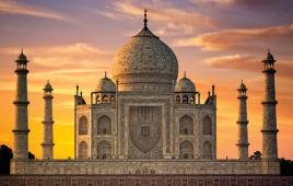 Stock photo of Indian building