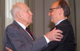 Francis de Marneffe receives Legion of Honor