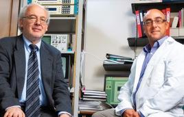 Drs. Vadim Bolshakov and Edward Meloni