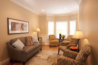 Gunderson residence living room