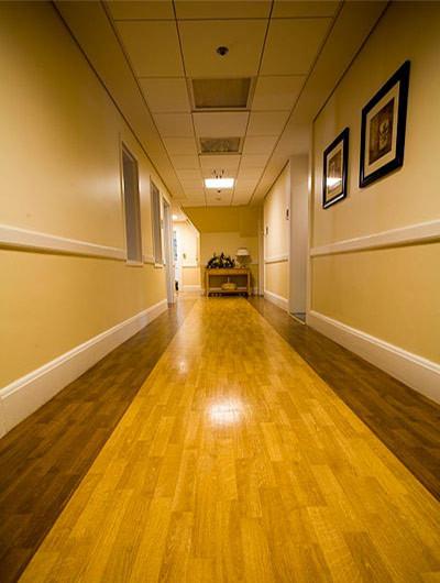 McLean 3East hallway