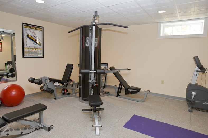 Fernside fitness room