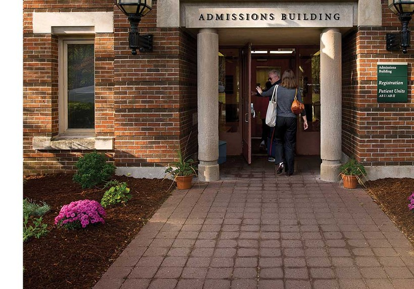 Admissions Building